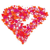 valentine du coeur s Photo stock