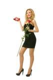 Valentine elegant girl Stock Photography