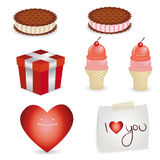 Valentine Elements Stock Photos