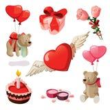 Valentine Elements Royalty Free Stock Photo