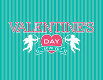 Valentine Emblem Photographie stock
