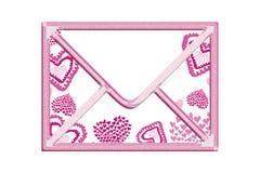 Valentine envelope Stock Photo