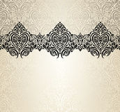 Valentine fashionable vintage background design Royalty Free Stock Photography
