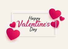 Valentine' feliz; dia de s ilustração do vetor