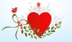 Valentine flourish Royalty Free Stock Photography
