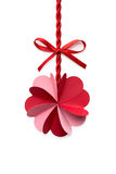 Valentine flower. Royalty Free Stock Photos