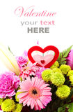 Valentine Flower mélangé Image stock