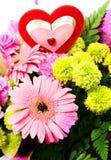 Valentine Flower mezclado Imagenes de archivo