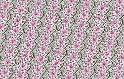 Valentine Flower Pattern Fotografia de Stock
