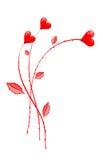 Valentine flowers Stock Images