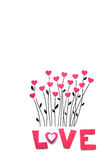 Valentine flowers. Royalty Free Stock Photos