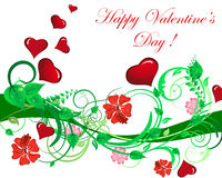 Valentine frame Royalty Free Stock Photos
