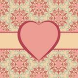 Valentine frame Royalty Free Stock Image