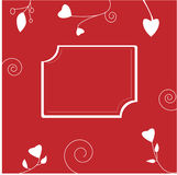 Valentine frame Stock Photos