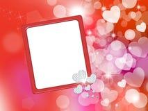 Valentine frame Stock Images