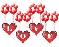 Valentine frame Stock Image