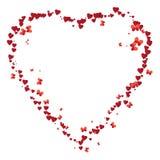 Valentine frame Royalty Free Stock Photos