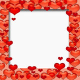 Valentine frame Royalty Free Stock Photography