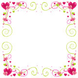 Valentine frame Royalty Free Stock Photo