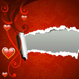 Valentine frame background Royalty Free Stock Photo