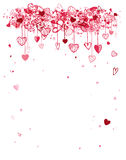 Valentine frame design with space for your text. Vector Stock Illustration