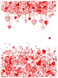 Valentine frame design with space for your text Royalty Free Stock Image