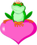 Valentine frog Royalty Free Stock Photo