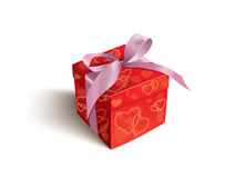 Valentine gift Stock Photos