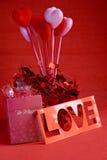 Valentine gift royalty free stock photos