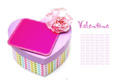 Valentine gift Royalty Free Stock Image