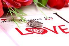 Valentine Gift Royalty-vrije Stock Afbeelding