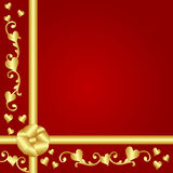 Valentine gift background Stock Photos