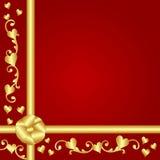 Valentine Gift Background Stock Photos