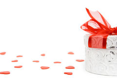 Valentine gift box Stock Photography