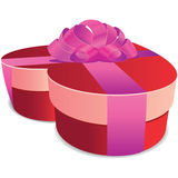 Valentine Gift Box Stock Image
