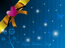 Valentine gift box background. EPS 10 Vector Stock Photography