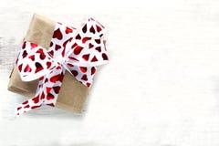 Valentine gift box Royalty Free Stock Image