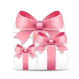 Valentine gift boxes Stock Photos