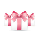 Valentine gift boxes Royalty Free Stock Photography