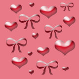 Valentine gift paper Royalty Free Stock Photo