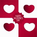 Valentine Gift Wrap Royaltyfri Fotografi