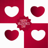 Valentine Gift Wrap Royalty Free Stock Photography