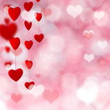 Valentine-giftachtergrond Royalty-vrije Stock Afbeelding