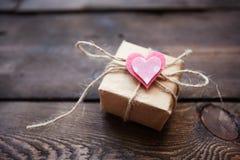 Valentine giftbox Royalty Free Stock Photo