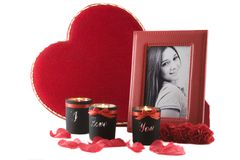 Valentine gifts Stock Images