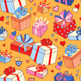 Valentine gifts Royalty Free Stock Photography