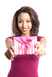 Valentine girl Royalty Free Stock Image