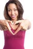 Valentine girl Royalty Free Stock Photo