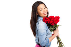 Valentine girl Royalty Free Stock Photo