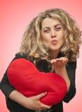 Valentine girl Stock Photo